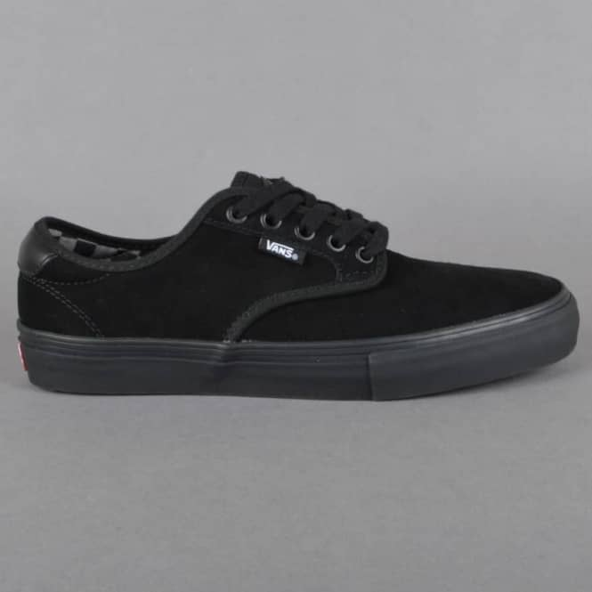 Vans Chima Ferguson Pro Skate Shoes - (Mono) Black/Black - SKATE SHOES from  Native Skate Store UK