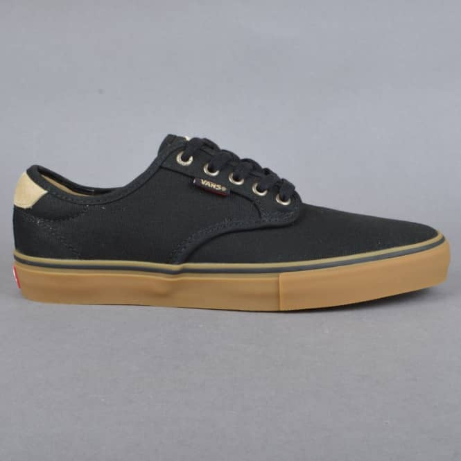 Vans Chima Ferguson Pro Skate Shoes - Native Black/Gum
