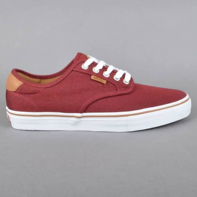 730ac2e2cd Vans Chima Ferguson Pro Skate Shoes - Oxford Red - SKATE SHOES from ...