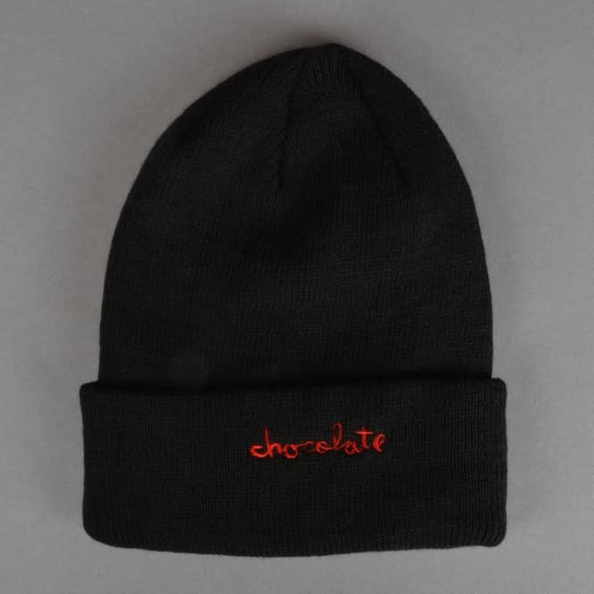 Chocolate Skateboards Choco Chunk Fold beanie - Black