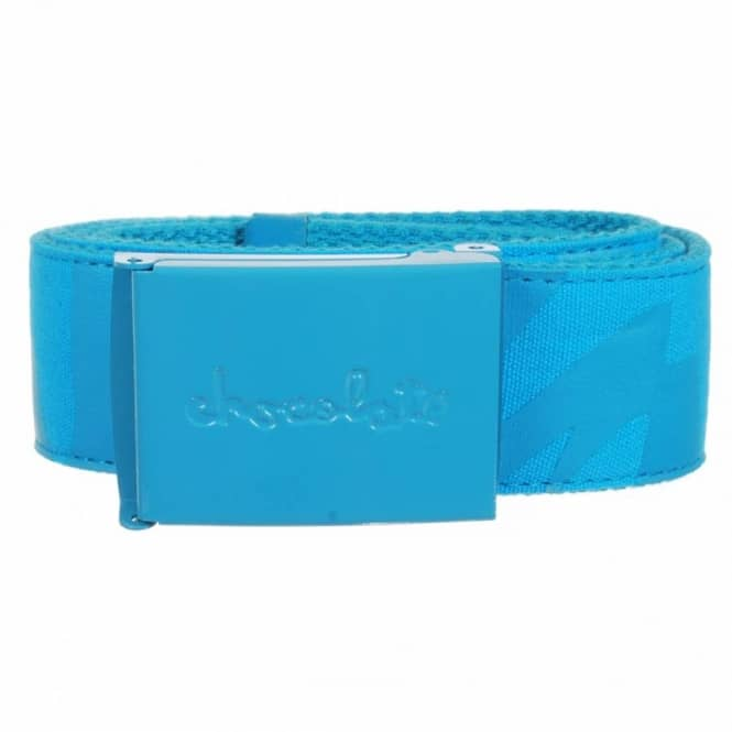 Chocolate Skateboards Chocolate Big Chunk Scout Web Belt Blue