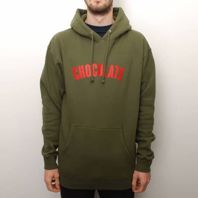 Chocolate Skateboards Chocolate League Pullover Hoodie - Khaki