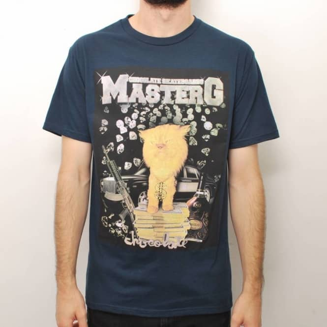 Chocolate Skateboards Chocolate Master G Premium Skate T-Shirt - Navy