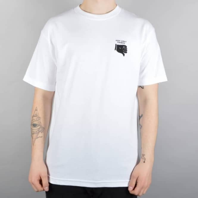 Chocolate Skateboards Black Magic Skate T-Shirt - White