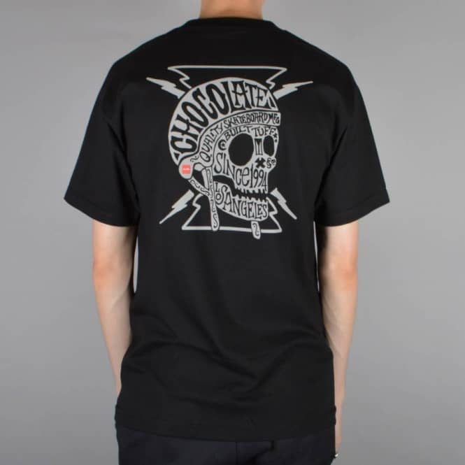 Chocolate Skateboards Built Skate T-Shirt - Black