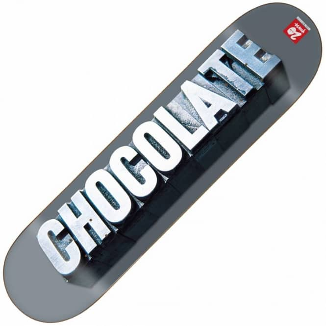 Chocolate Skateboards Chocolate Justin Eldridge Heritage Skateboard Deck 8.0''