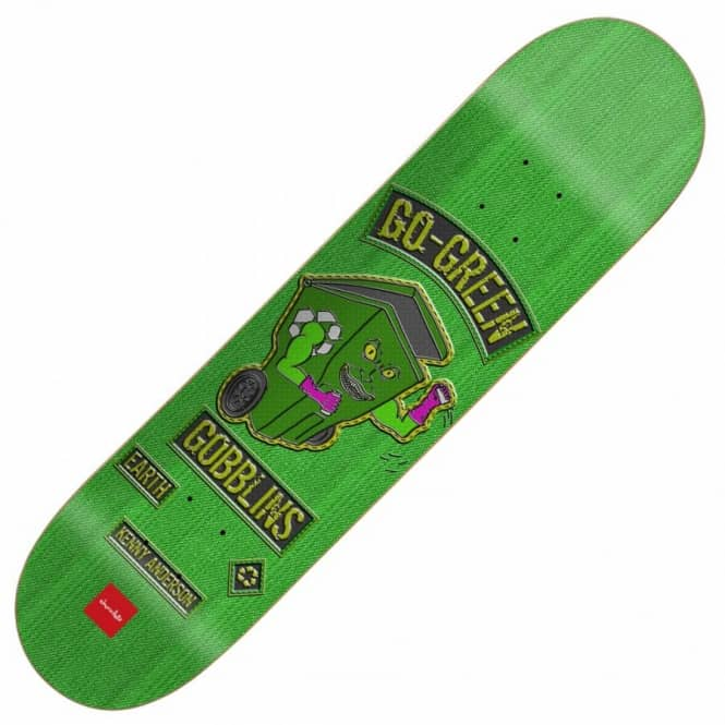 Chocolate Skateboards Chocolate Kenny Anderson Rider Patch Skateboard Deck 8.125''
