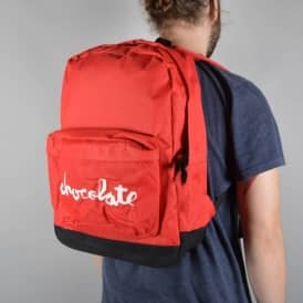 Chocolate Skateboards Chunk Canvas Backpack - Red