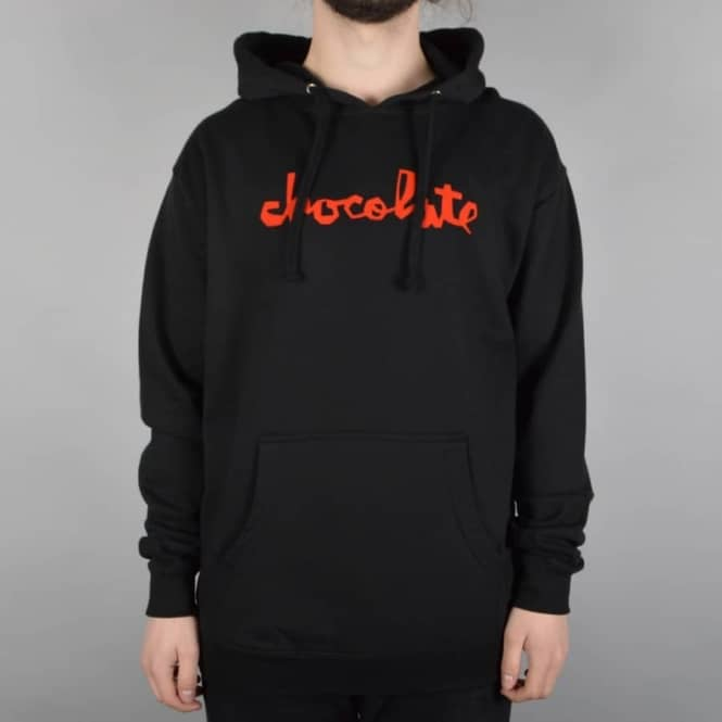 Chocolate Skateboards Chunk Pullover Hood - Black