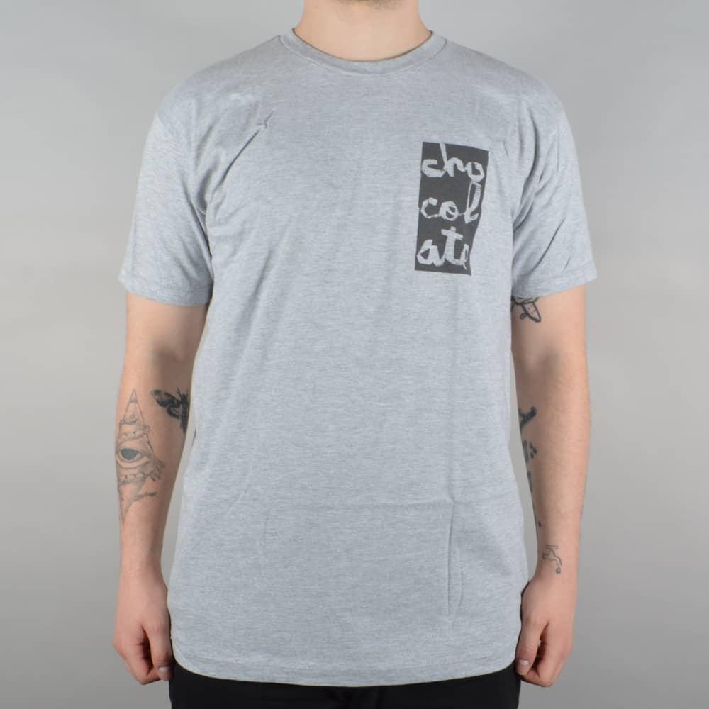 5e2fc7fd3 Chunk Stack Premium Skate T-Shirt - Athletic Heather Grey
