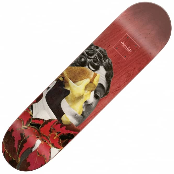 Chocolate Skateboards Dru Collage Vincent Alvarez Skateboard Deck - 8.25""
