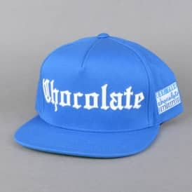 Chocolate Skateboards Eazy-C Snapback Cap - Royal