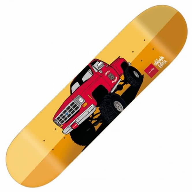 Chocolate Skateboards Elijah Berle Monster Truck Skateboard Deck 8.125''