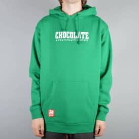 Chocolate Skateboards Heritage #3 Pullover Hoodie - Kelly Green
