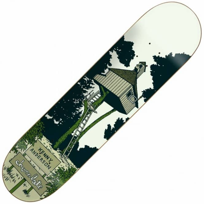 Chocolate Skateboards Kenny Anderson Tree House Skateboard Deck 8.125''