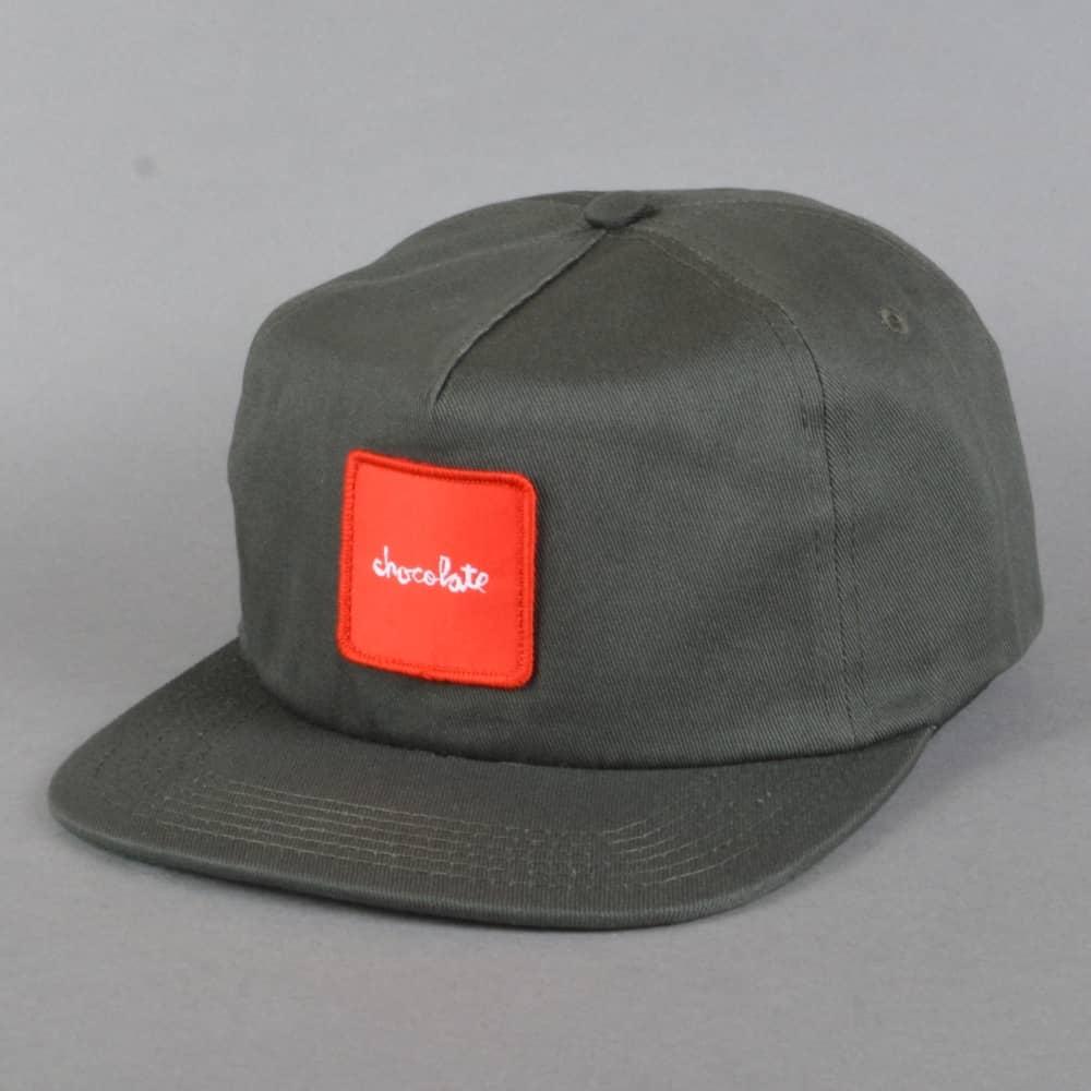 Chocolate Skateboards Red Square Snapback Cap - Grey - SKATE ... 96e12796efc