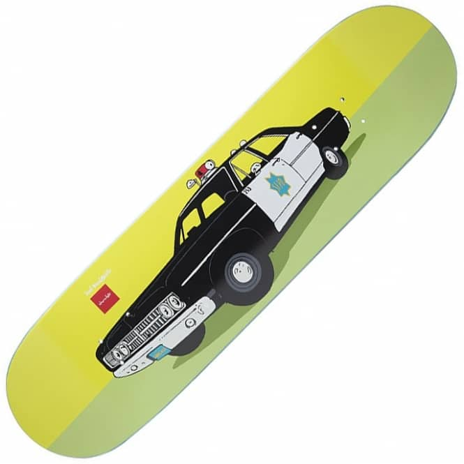 Chocolate Skateboards X Huf SF Cop Car Skateboard Deck 8.5