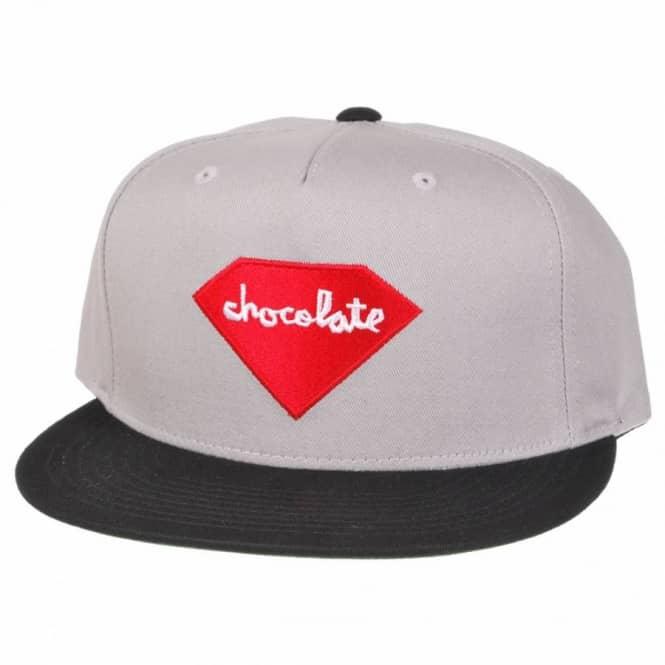 4adda862e83 Chocolate Skateboards Chocolate X Diamond Supply Co. Snapback Cap ...