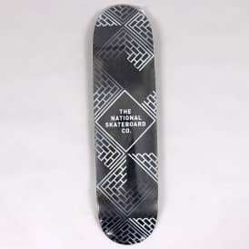 Classic Black Wash Black Stain Skateboard Deck 8.0
