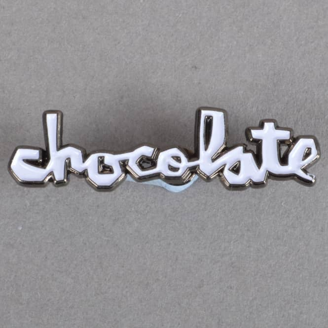 Chocolate Skateboards Classic Chunk Enamel Pin Badge - 1.5