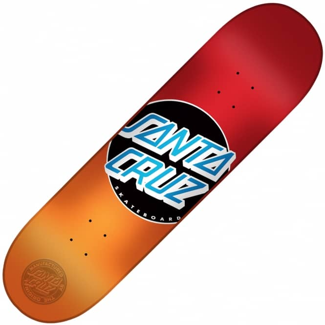 Santa Cruz Skateboards Classic Dot Candy Fade Skateboard Deck 8.5