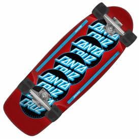 Classic Dot Stack 80's Complete Cruzer Skateboard - 10.44