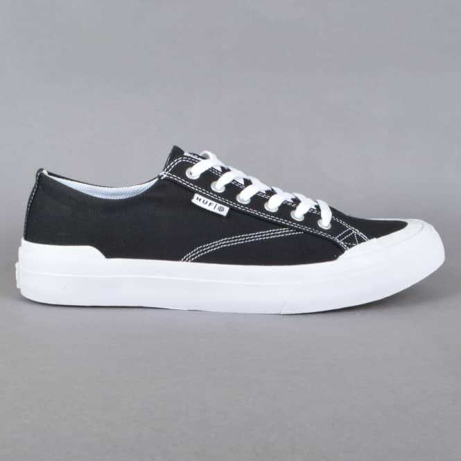 HUF Classic Lo ESS TX Skate Shoes - Black