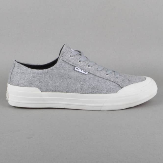 HUF Classic Lo Skate Shoes - Heather Grey