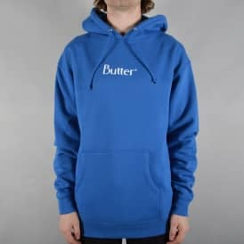 Classic Logo Pullover Hoodie - Royal Blue