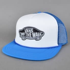 Classic Patch Mesh Trucker Cap - White/Imperial