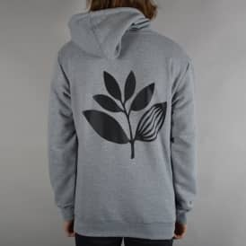 Classic Plant Pullover Hoodie - Athletic Heather Grey