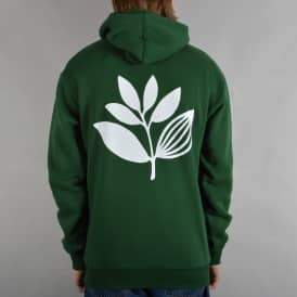 Classic Plant Pullover Hoodie - Forest Green