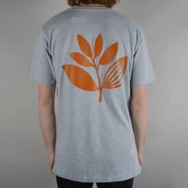 Classic Plant Skate T-Shirt - Ight Heather Grey