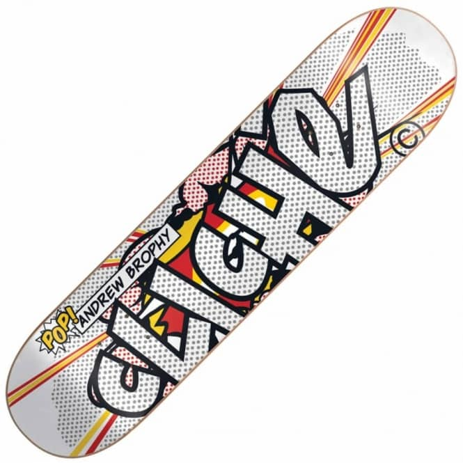 Cliche Skateboards Andrew Brophy Musee Skateboard Deck 8.125