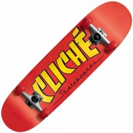 Cliche Skateboards Blanco Directional Complete Skateboard 8.625""