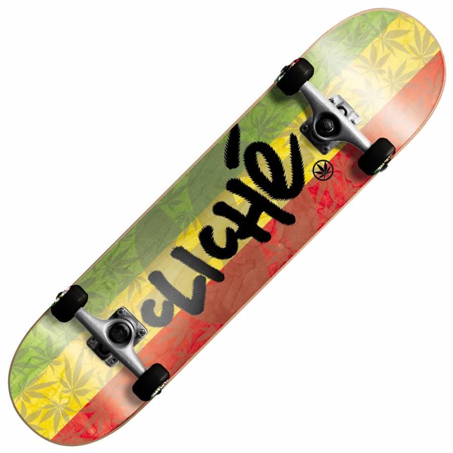 Cliche Skateboards Cliche Rastoned Complete Skateboard 7.9