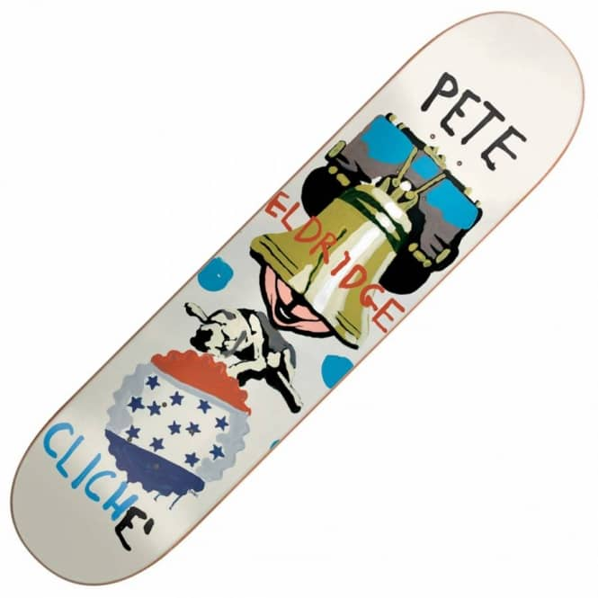 Cliche Skateboards Eldridge Brabs Paint Skateboard Deck 8.25''