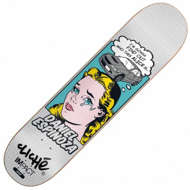 Cliche Skateboards Espinoza POP Babes Impact Light Skateboard Deck 7.75''
