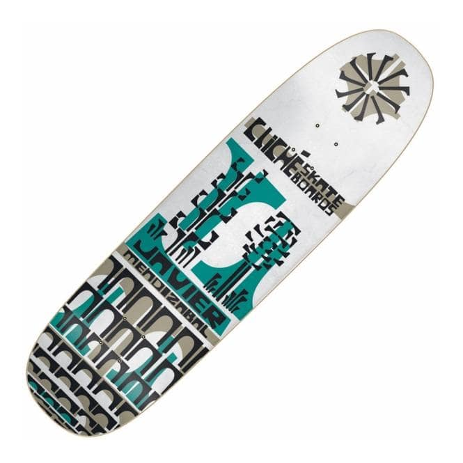 Cliche Skateboards Javier Mendizabal Grip Art Skateboard Deck 8.5''