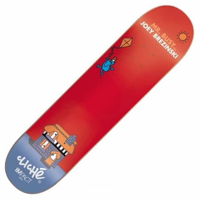 Cliche skateboards joey brezinski mr men impact light skateboard joey brezinski mr men impact light skateboard deck 80 aloadofball Image collections