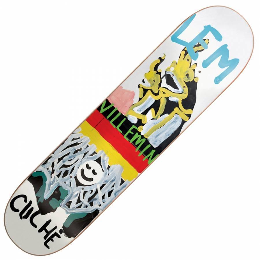 Cliche skateboards lem brabs paint skateboard deck 8 0 for Best paint for skateboard decks