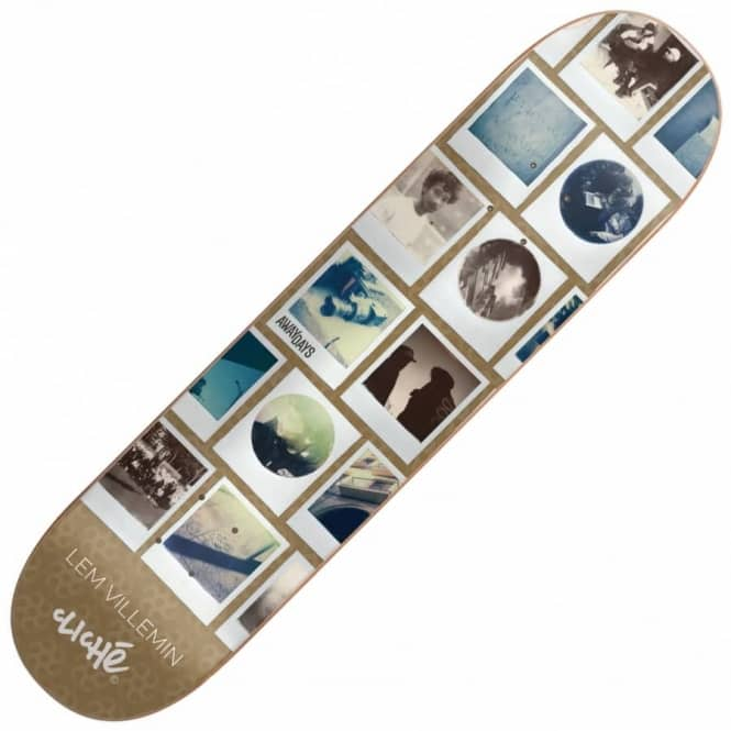 Cliche Skateboards Lem Villemin Away Days Skateboard Deck 8.0