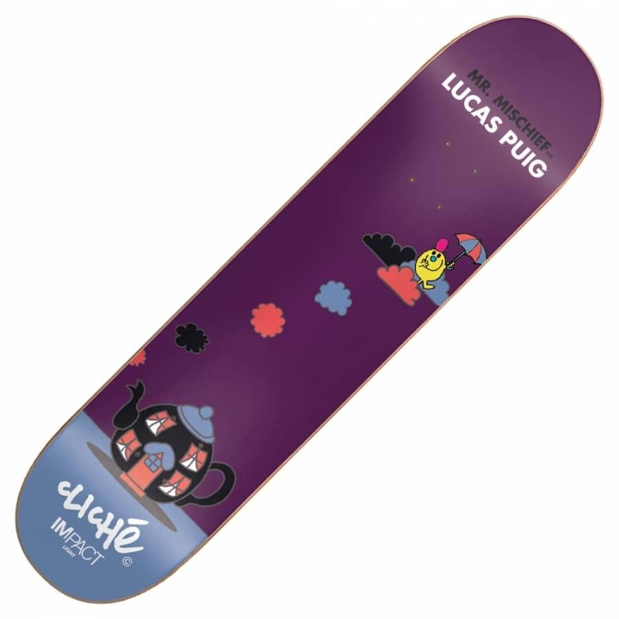 Cliche Skateboards Lucas Puig Mr Men Impact Plus