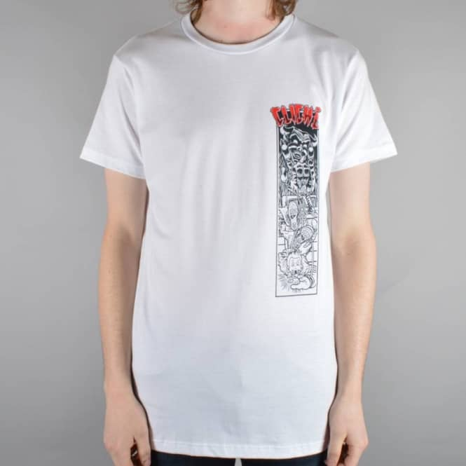 Cliche Skateboards Master Of Puppets Skate T-Shirt - White