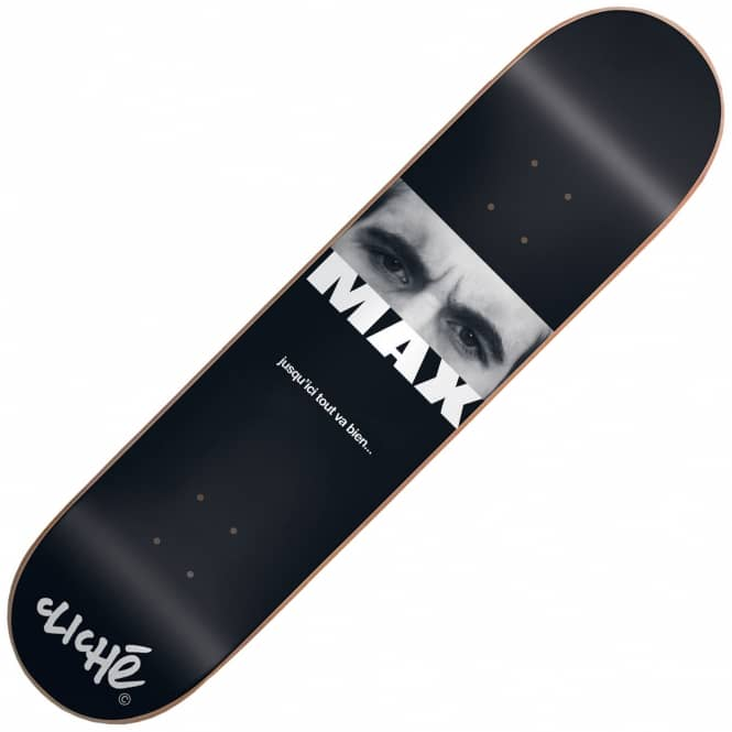 Cliche Skateboards Max Geronzi Debut Skateboard Deck 8.0