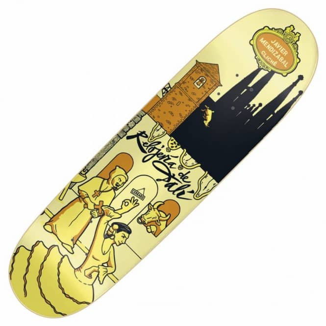 Cliche Skateboards Mendizabal Street Series Skateboard Deck 8.6''