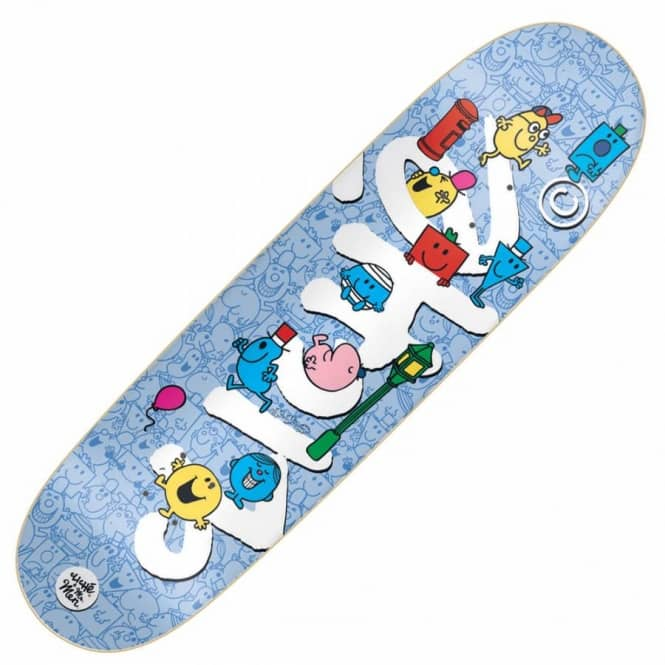 Cliche Skateboards Mr Men Team Directional Skateboard Deck 8.625
