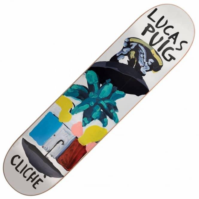 Cliche skateboards puig brabs paint skateboard deck for Best paint for skateboard decks