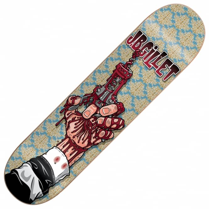 Cliche Skateboards Tribute Garcon Gillet Skateboard Deck 8.25