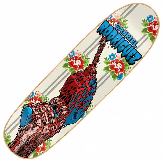 Cliche Skateboards X 101 Gabriel Red Drill Skateboard Deck 8.9''
